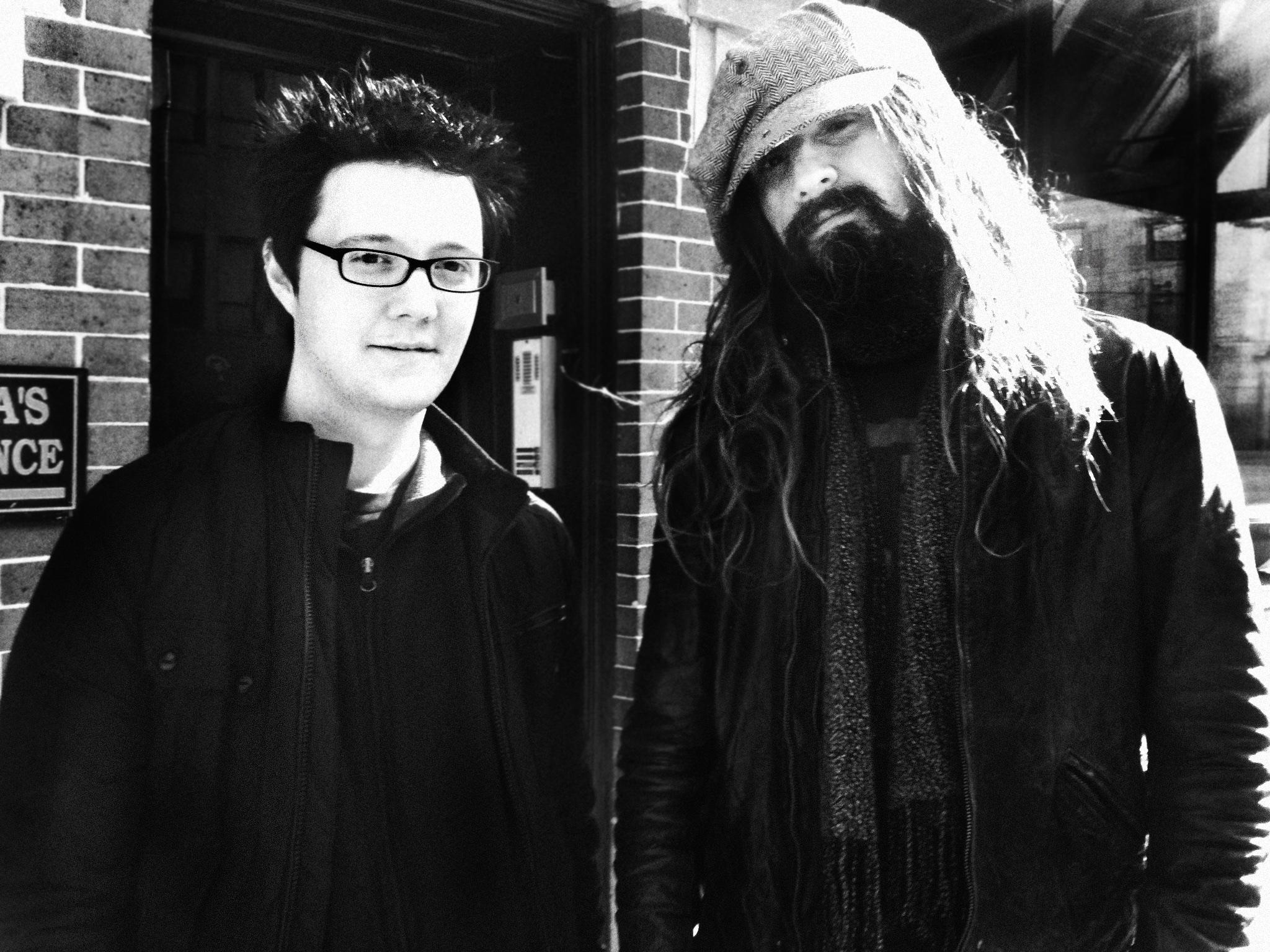 Eric Thirteen and Rob Zombie